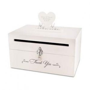 Things Remembered Wedding Card Box